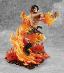 Figurine One Piece Ace aux Poings Ardents