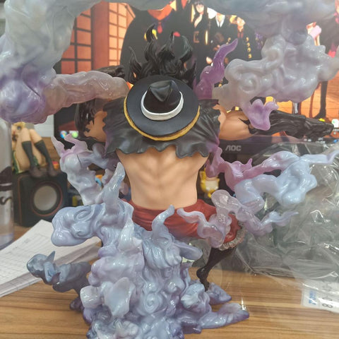 Figurine One Piece Luffy SnakeMan ( 28 CM )