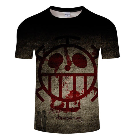 T-Shirt One Piece Trafalgar D Water Law
