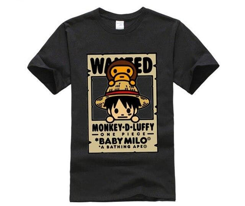 T Shirt One Piece Wanted