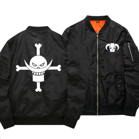 Veste Bomber One Piece Barbe Blanche - Luffy-Shops