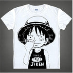 T-Shirt One Piece Luffy enfant humour - Luffy-Shops