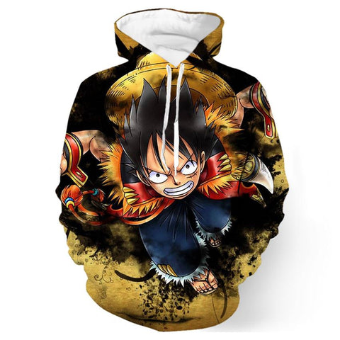 Sweat One Piece Luffy Empereur - Luffy-Shops