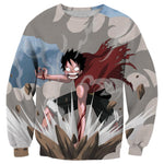 Pull One Piece Luffy Combat - Luffy-Shops