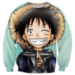 Pull One Piece Luffy Ninja - Luffy-Shops