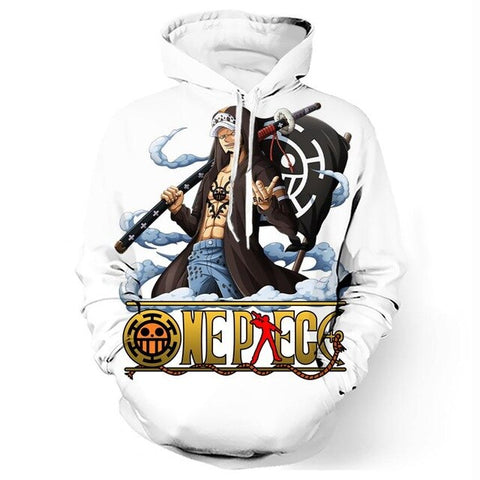 Sweat One Piece Trafalgar D Water Law - Luffy-Shops