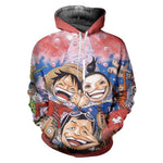 Sweat One Piece Luffy Dessin - Luffy-Shops