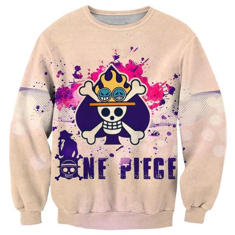Pull One Piece Ace Insigne - Luffy-Shops