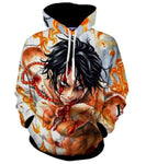 Sweat One Piece Ace Marine Ford - Luffy-Shops