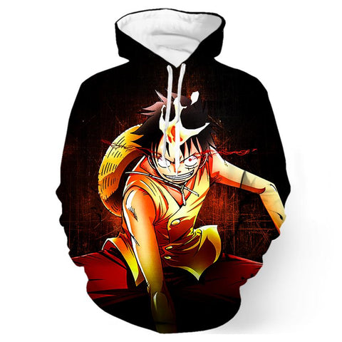 Sweat One Piece Luffy Enies Lobby - Luffy-Shops