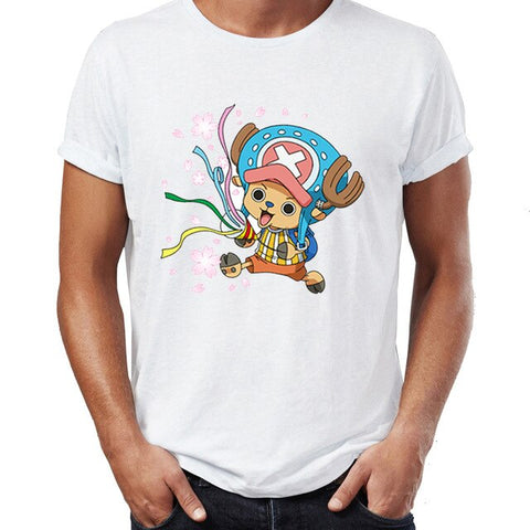 T-Shirt One Piece Chopper fêtard - Luffy-Shops