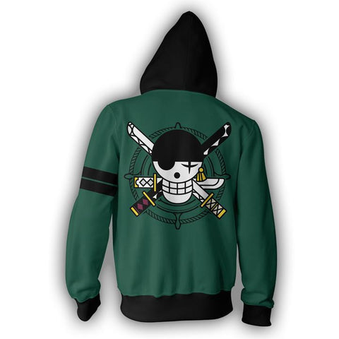 Veste One Piece Zoro Logo - Luffy-Shops