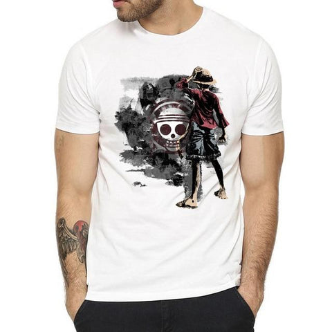 T-Shirt One Piece Luffy Sombre - Luffy-Shops
