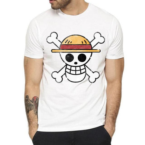 T-Shirt One Piece Emblème Luffy - Luffy-Shops