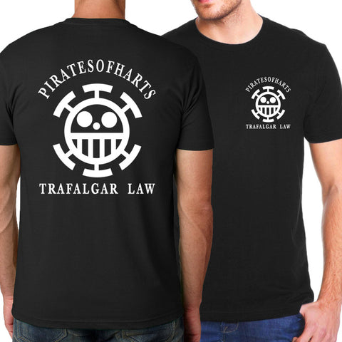 T-Shirt One Piece Équipage de Trafalgar D Water Law - Luffy-Shops