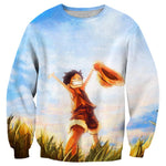 Pull One Piece Luffy Liberté - Luffy-Shops