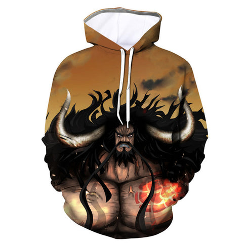 Sweat One Piece Kaido aux Cent Bêtes - Luffy-Shops