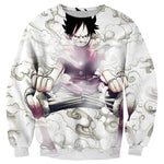 Pull One Piece Luffy Gear Second - Luffy-Shops