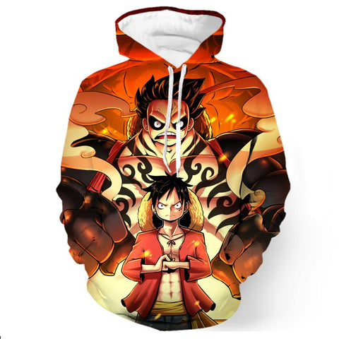 Sweat One Piece Luffy Gear Fourth - Luffy-Shops
