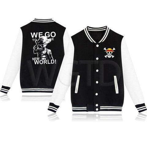 Veste One Piece We Go To The New World - Luffy-Shops
