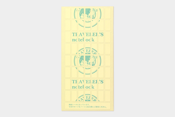 TRAVELER'S notebook refill 010 (Double Sited Stickers)
