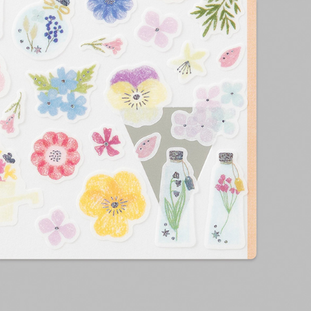 Sticker Marché - Pressed Flowers