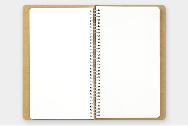 TRC SPIRAL RING NOTEBOOK (A5 Slim) Blank MD Paper White