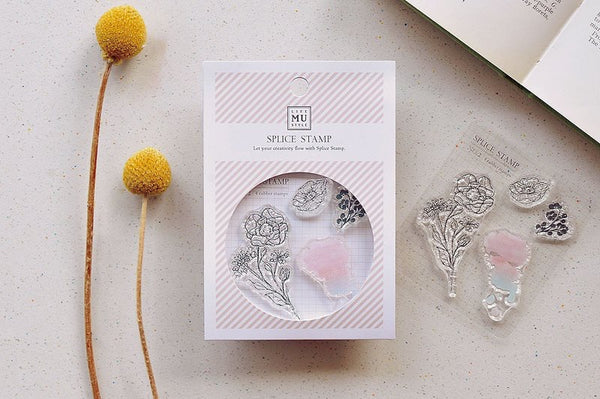 MU Splice Stamp No.2 Floral Poetry