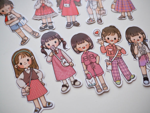 Telado Original Girls Sticker - Spring