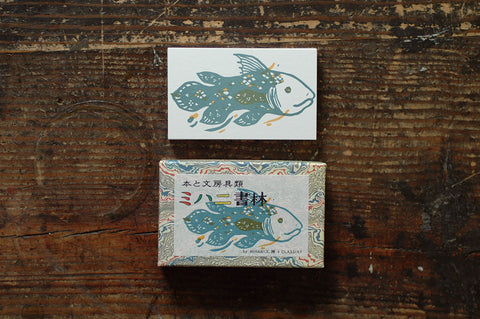Japanese Treasuring Card - Coelacanth