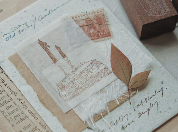 Jieyanow Slow Living Stamp