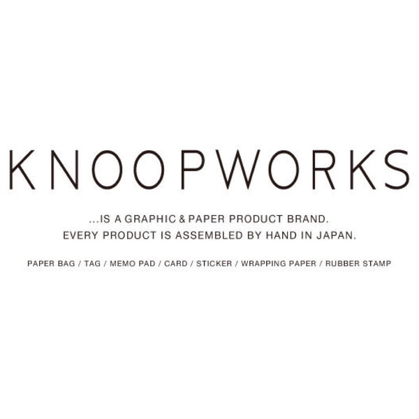 KNOOP WORKS EMBLEM Stickers シール