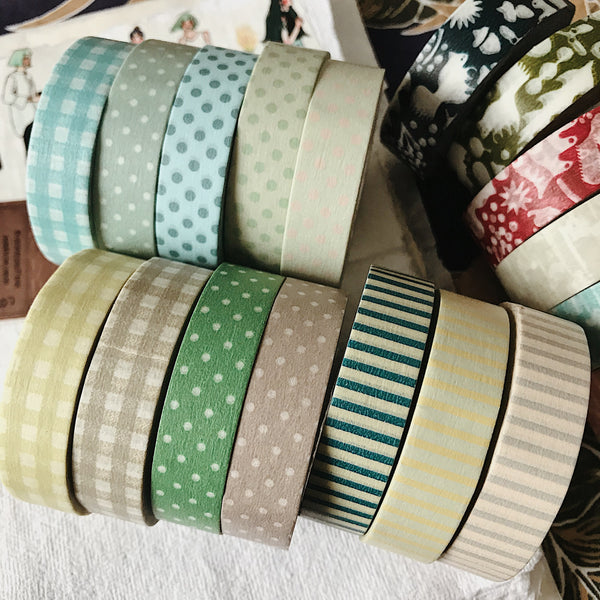 Gingham 13mm Masking Tape - 3 Colors