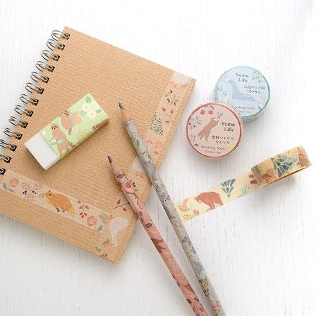 Yama-Life Washi Tape - Mountain Life Swamp