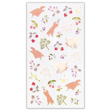 Yama-Life Washi Paper Sticker - Mountain Life Momonga