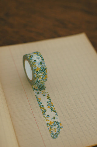 Wood Sorrel Masking Tape - Green