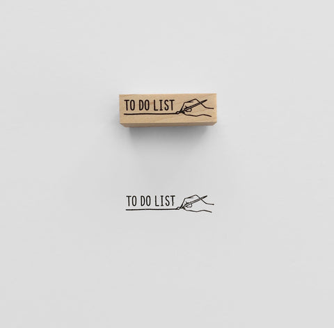 TO DO LIST Rubber Stamp スタンプ