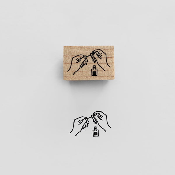 NAIL Rubber Stamp スタンプ