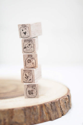BMP Original Stamp - Mini Jar Stamps (5 designs)