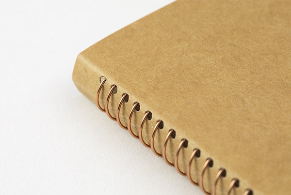 TRC SPIRAL RING NOTEBOOK (A6 Slim) Blank DW Kraft Paper