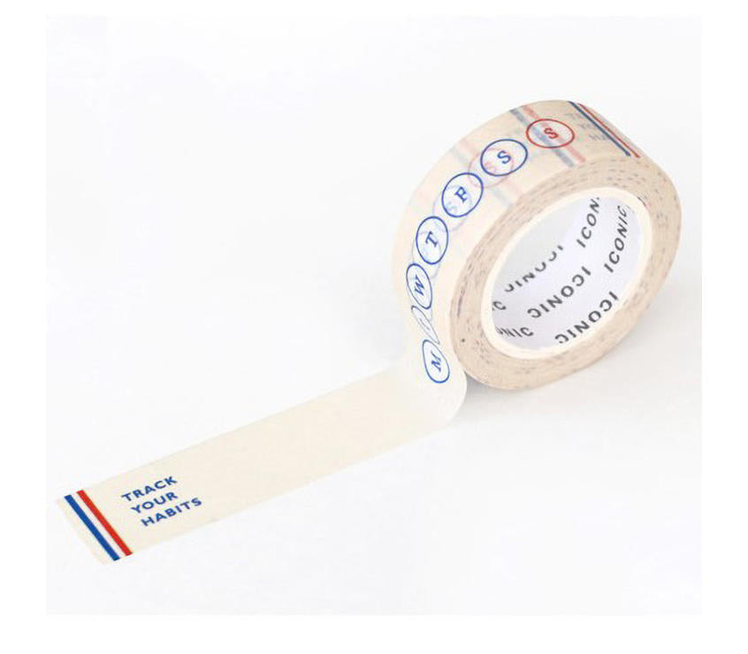 Habit Trackers Washi Tape