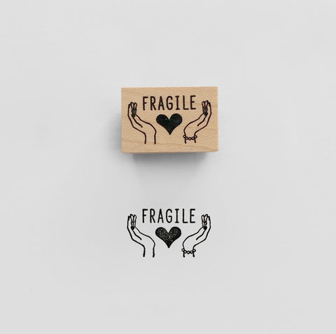 FRAGILE Rubber Stamp スタンプ