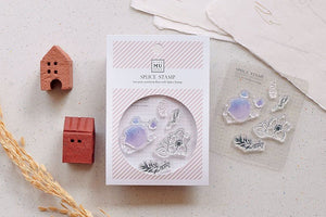 MU Splice Stamp No.1 Sleepless Flower