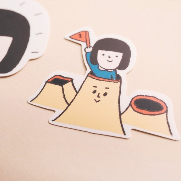 Yohand Hide & Seek Waterproof Stickers 3-03