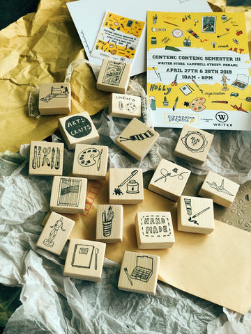 Art and Craft Rubber Stamp