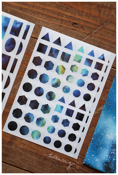 LCN Cosmos (Blue) Print On Stickers