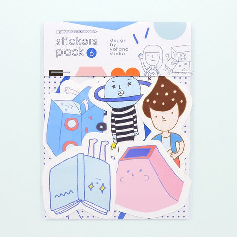 Yohand Outer-space Waterproof Stickers 2-06