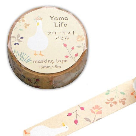 Yama-Life Washi Tape - Mountain Life Duck