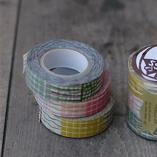 Textile Washi Tape 15mm (3 Colors)