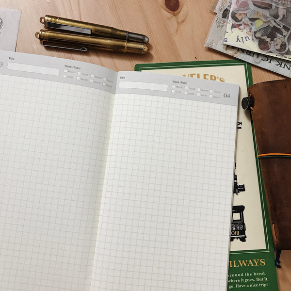 TRAVELER'S notebook Regular 005 (Free Diary, Daily)